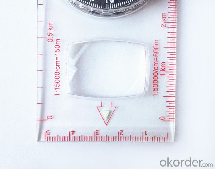 Good Mapor Ruler Mini-Compass DC47 for Surveying