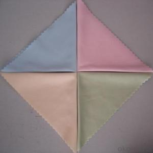 Glasses cleaning cloth with many pure color