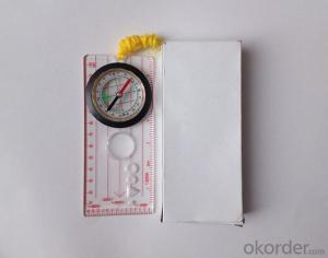 Professional Map or Ruler Mini-Compass DC45-5D