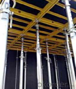 Aluminum-frame for formwork and scaffolding system