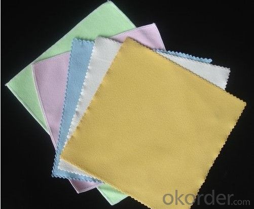 Glasses cleaning cloth for optical care only