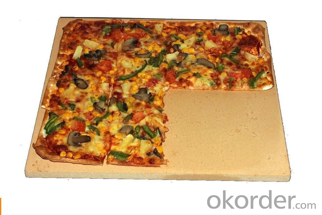 Rectangular Pizza Baking Stone for cooking pizzia