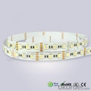 Waterproof 24V RGBW Flexible Led Strip 4 Colors in 1 Led 60LEDS PER METER