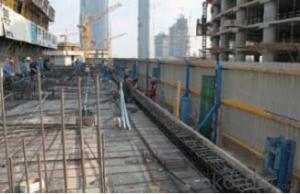 Protection Platform  for Formwork and Scaffolding systems