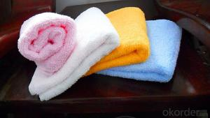 Microfiber cleaning towel with great absorbtion