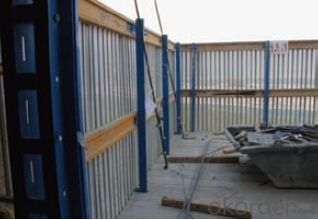 Protection-Platform for Formwork and Scaffolding system