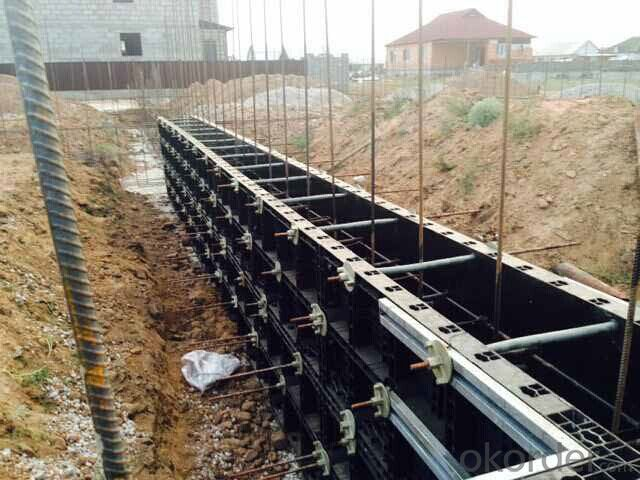 New Invented  Plastic Formworks in Construction Industry