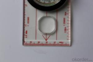 Good Mapor Ruler Mini-Compass DC45-W for Surveying