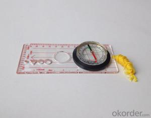 Good Mapor Ruler Mini-Compass DC45-5D for Surveying