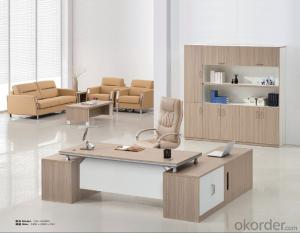 ExecutiveTable Desk Hight Quality Wood Melamine/Glass Office  AM002