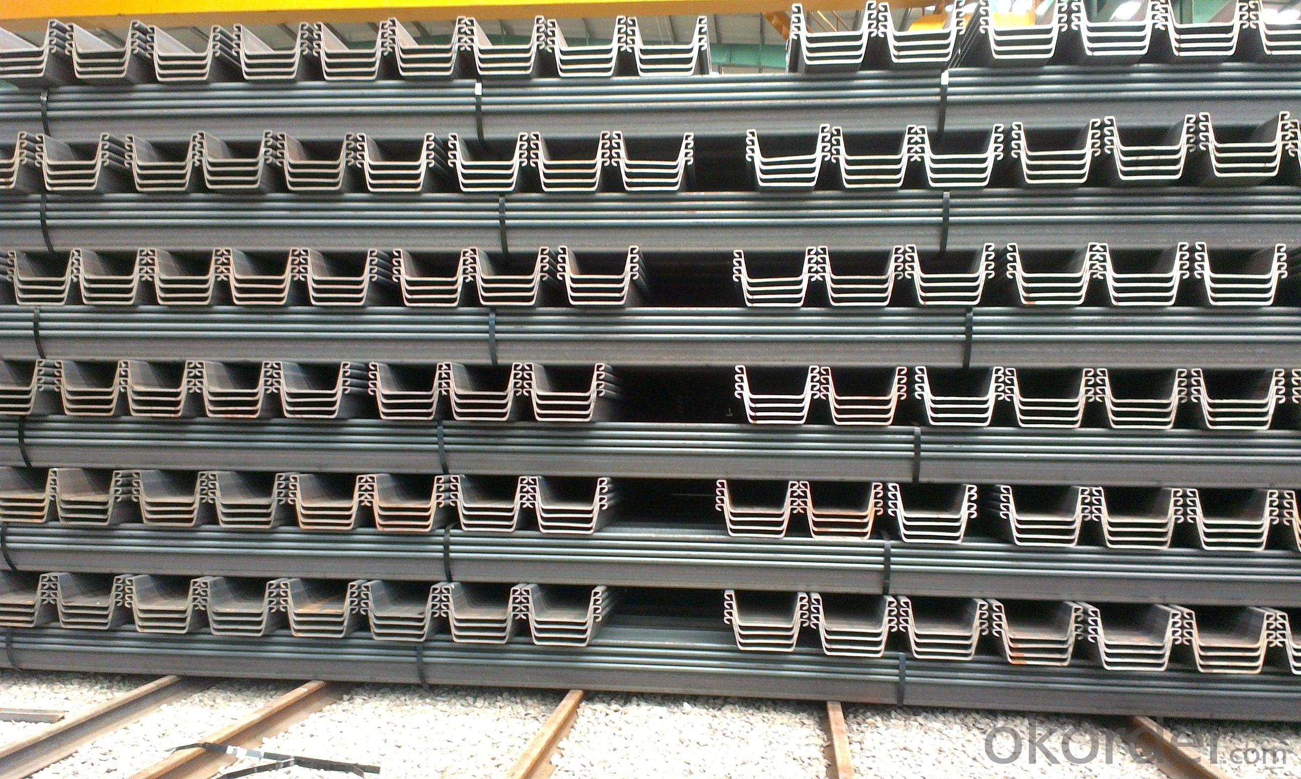 Buy Steel Sheet Piling European Standard U Steel Sheet