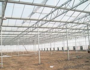 Aluminium profiles greenhouse for roses plants