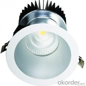 Powerful 8 Inch CE RoHS Commercial Lighting 70W COB LED Downlight