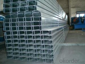 C Shaped  Steel of Various Specifications