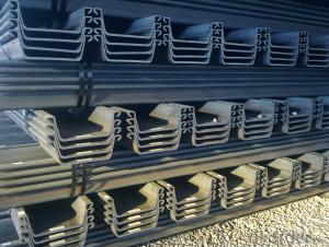 Hot Rolled and Cold Formed European Standard PU 12 Steel Sheet Pile