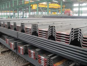 SY295 Larsen Steel Sheet Pile Wall