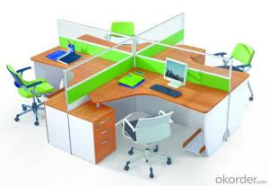 Office Table/ Excutive Desk Modern Wooden MDF Melamine/Glass Modular  AM688
