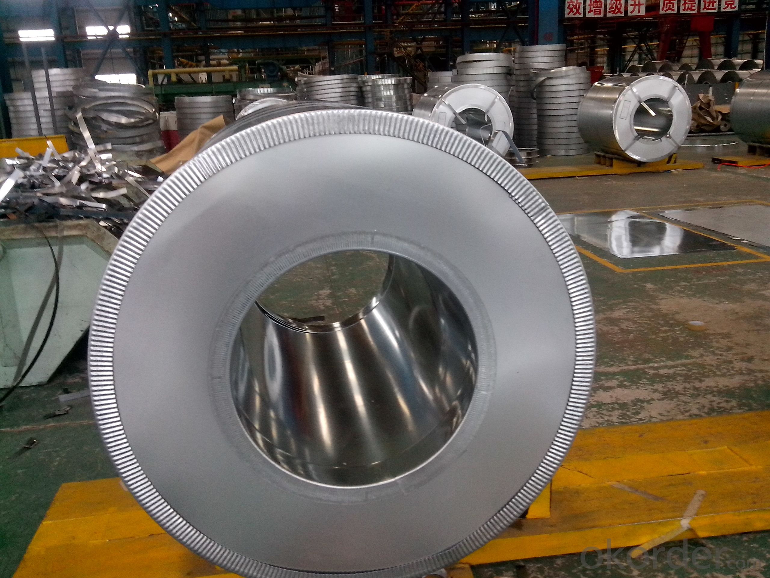 Galvanized steel coil  Z275 No spangle good quality