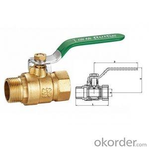 Brass ball valve - CW617N 1/2