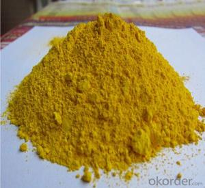 Zinc Iron Brown Yellow Pigment Powder Building construction material