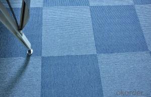 Nylon or PP Commercial used Tiled Carpet