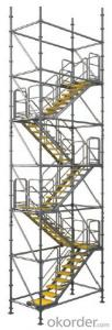 Stair tower  for formwork and scaffolding systems