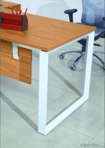 Office Table/Desk Modern Wooden MDF Melamine/Glass Modular  CN30332