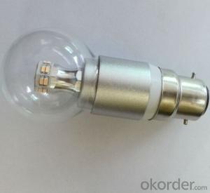 Large Angle 360 Degree B22 Led Lamp Bulb 6w B22 LED Bulb