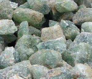 Fluorspar powder, fluorite content more than 97%