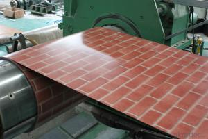 Good Quality Printing Steel Plate-Wooden Pattern-0.45*1250 Z80g