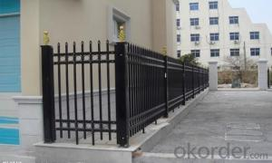 China High quality hot galvanized wrought iron fence