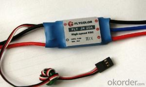 24V 250W Brushless DC motor controller for lithium battery