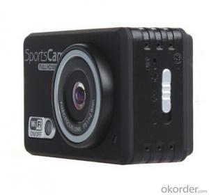 LCD Display 1080P Full  HD Wifi Sports Camera With 30M Waterproof Sports Camera