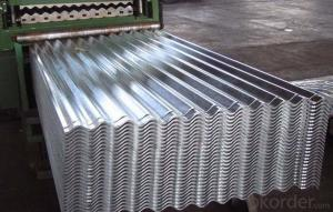 Prepainted galvanized corrugated steel sheets for roofing