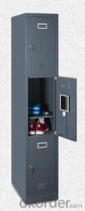 Metal Three Door Locker DX05 from Fortune Global 500 company