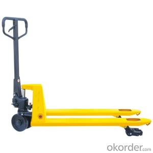 Good Price Hand Pallet Truck with Weighing Scale for Sale