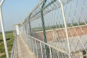 Low price concertina spiral cheap razor barbed wire mesh fence