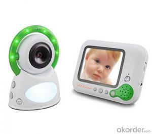 digital baby monitor 2.4GHz 200m talking range