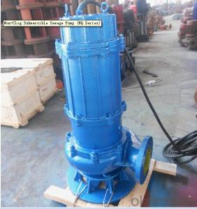 Non-Clog Submersible Sewage Water Pump for Irrigation