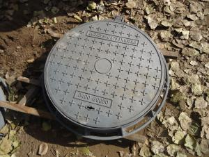 Ductile Iron Manhole Covers EN124  Good Quality Made In China