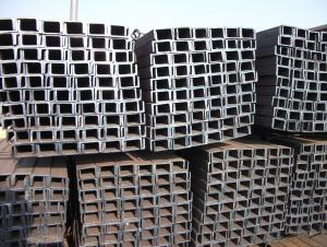 U Channels JIS Standard Hot Rolled Steel U Channels SS400