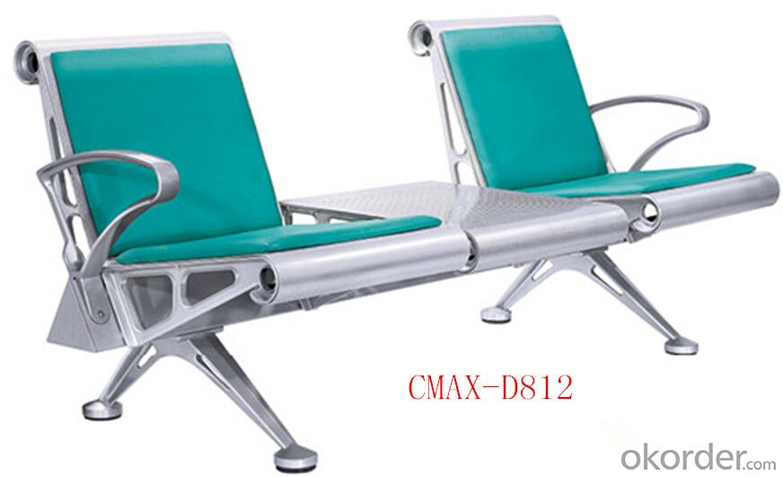 3 Seaters Strong Steel Waiting Chair CMAX-D812