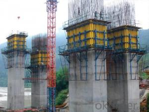Auto-climbing Formwork QPMX-50 for Bridge Constructions