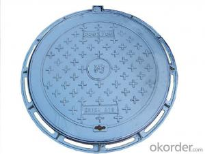 Ductile Iron Manhole Covers EN124 Made In China D400