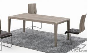 Modern Design MDF 3D Paper Dining Tables