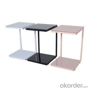Simple Design Medium Density Fiber Board Dinner Table,