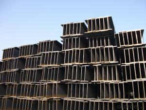 Steel H Beams JIS Beams Hot Rolled with Low Carbon