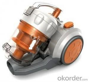 Multi-Cyclonic Vacuum Cleaner with HEPA Filter
