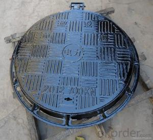 Ductile Iron Manhole Cover Made EN124 In China D400