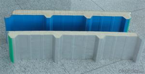 Heat and Sound Insulation Color Steel PU SandWich Panel